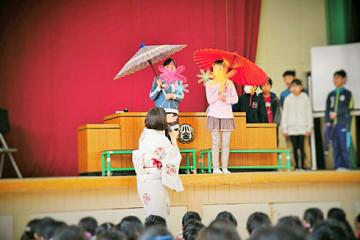 小金小学校・江戸しぐさ体験学習